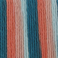 Bernat Coral Seas Ombre Handicrafter Cotton Yarn - Big Ball (4 - Medium)