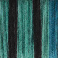 Patons Turquoise Stripes Kroy Socks Yarn (1 - Super Fine)