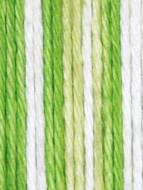 Lily Sugar 'n Cream Lime Stripes Lily Sugar 'n Cream Yarn - Small Ball (4 - Medium)