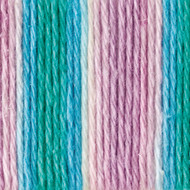 Lily Sugar 'n Cream Beach Ball Blue Ombre Lily Sugar 'n Cream Yarn - Cone (4 - Medium)
