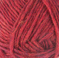 Lopi Garnet Red Heather Léttlopi Yarn (4 - Medium)