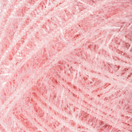 Red Heart Pink Grapefruit Sparkle Scrubby Yarn (4 - Medium)