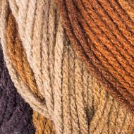 Red Heart Latte Stripe Super Saver Yarn (4 - Medium)
