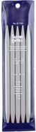"""Susan Bates Quicksilver 5-Pack 7"""" Double Point Knitting Needles (9 mm)"""