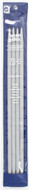 """Susan Bates Quicksilver 4-Pack 10"""" Double Point Knitting Needles (Size US  10.5)"""