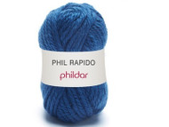 Phildar #23 Navy Rapido Yarn (6 - Super Bulky)