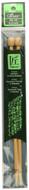 "Clover Tools Takumi Bamboo 2-Pack 9"" Single Point Knitting Needles (Size US 10 - 6 mm)"