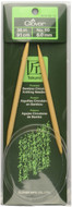 "Clover Tools Takumi Bamboo 36"" Circular Knitting Needle (Size US 10 - 6 mm)"