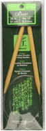 "Clover Tools Takumi Bamboo 36"" Circular Knitting Needle (Size US 11 - 8 mm)"