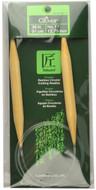 "Clover Tools Takumi Bamboo 36"" Circular Knitting Needle (Size US 17 - 12.75 mm)"