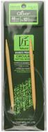 "Clover Tools Takumi Bamboo 48"" Circular Knitting Needle (Size US 10.5 - 6.5 mm)"