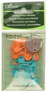 Clover Tools 20-Pack Locking Stitch Markers