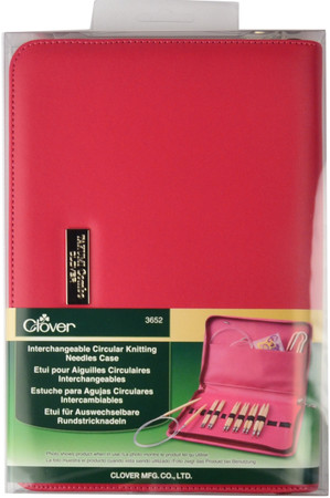 Clover Tools Interchangeable Circular Knitting Needle Case