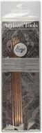 "Boye Artisan Tools 5-Pack 7"" Double Point Aluminium Square Knitting Needles (Size US 5 - 3.75 mm)"