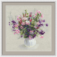 Riolis Cross Stitch Flower Bouquet Cross Stitch Kit