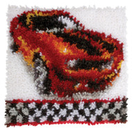 "WonderArt Muscle Car 12"" x 12"" Latch Hook Kit"