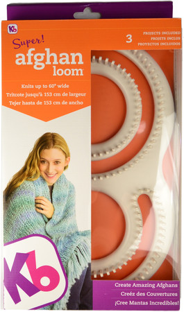Knitting Board Super Afghan Loom Kit