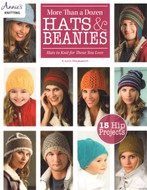 More Than A Dozen Hats & Beanie: 15 Hip Projects - Hats To Knit For Those You Love  - Book