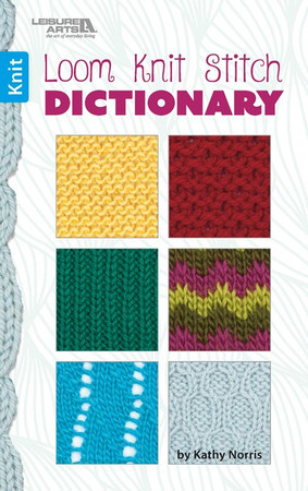 Leisure Arts Loom Knit Stitch Dictionary Little Pocket Book 96