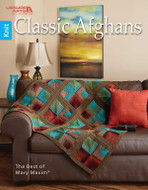 Classic Afghans- The Best Of Mary Maxim - Book