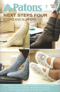 "Patons Assorted Yarns ""Socks And Slippers"" Pattern Book"