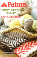 "Patons Assorted Yarns ""Fair Isle Knitting"" Pattern Book"
