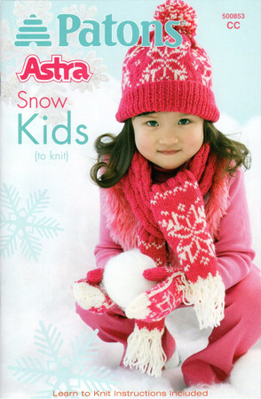 "Patons Astra ""Snow Kids"" Pattern Book"