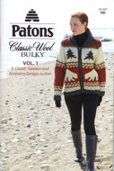 "Patons ""Classic Wool Bulky Vol. 1"" Pattern Book"