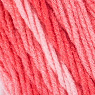 Red Heart Sea Coral Super Saver Ombre Yarn (4 - Medium)