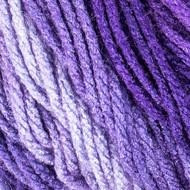 Red Heart Violet Super Saver Ombre Yarn (4 - Medium)