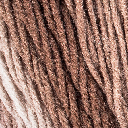 Red Heart Cocoa Super Saver Ombre Yarn (4 - Medium)