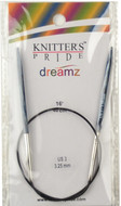 "Knitter's Pride Symfonie Dreamz Fixed 16"" Circular Knitting Needle (Size US 3 - 3.25 mm)"