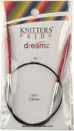 "Knitter's Pride Symfonie Dreamz Fixed 16"" Circular Knitting Needle (Size US 8 - 5 mm)"