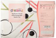 Knitter's Pride Symfonie Dreamz Normal Interchangeable Circular Knitting Needles Starter Set (3 Pairs)