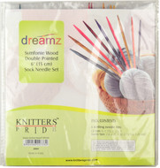 "Knitter's Pride Symfonie Dreamz 30-Pack 6"" Double Pointed Knitting Needles Set"