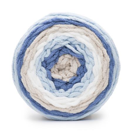 Bernat Stonewash Baby Blanket Stripes Yarn (6 - Super Bulky)