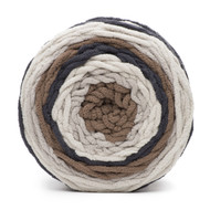 Bernat Buffed Stone Blanket Stripes Yarn (6 - Super Bulky)