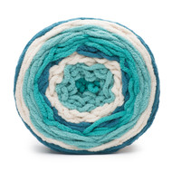 Bernat Teal Deal Blanket Stripes Yarn (6 - Super Bulky)