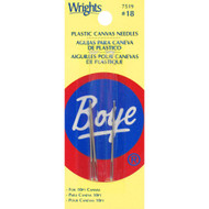 Boye Tools 2-Pack Plastic Canvas Needles (Size 18)