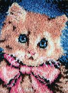 "WonderArt Prize Kitty 15"" x 20"" Latch Hook Kit"