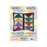 M.C.G. Textiles Flying Geese Quilt Mate Locker Hook Pillow Kit