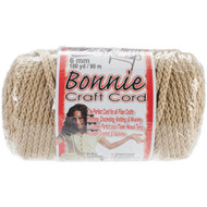 Pepperell Pearl Beige Bonnie Macrame Craft Cord (6 mm x 100 yards)