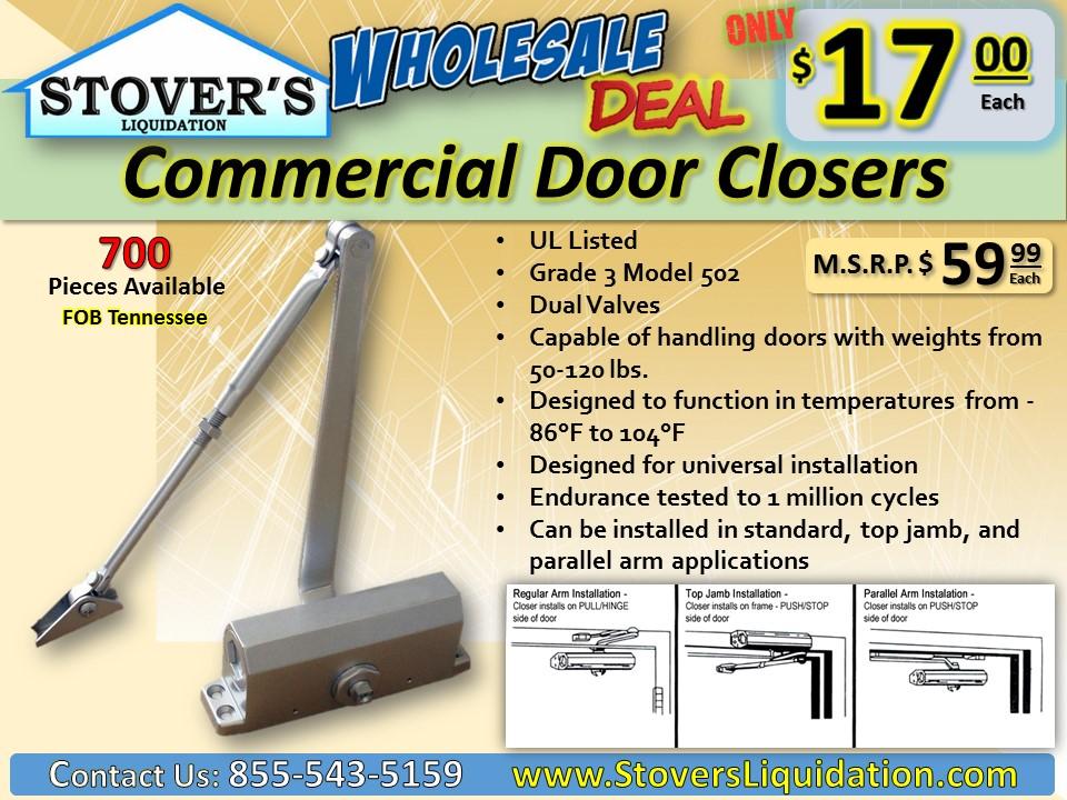 door-closers-wholesale-discount-stovers-liquidation-resale-2-