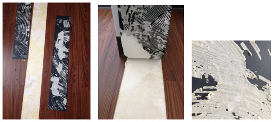 Resilient flooring and dealing with gypsum underlayments