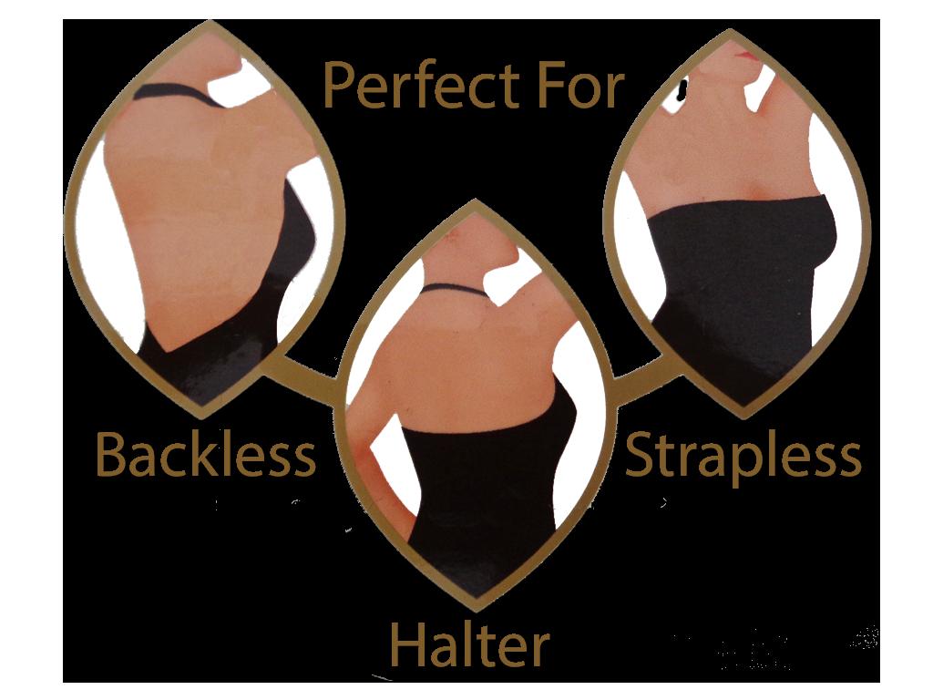 Backless Strapless Bra | Reusable | Lingerie Solutions - Stover's ...