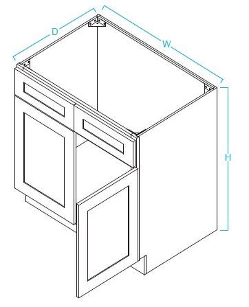 sb36-cumberland-collection-kitchen-cabinets-stovers-liquidation2.jpg  sc 1 st  Stoveru0027s Liquidation & Kitchen Cabinets | Classic Shaker Series | Cumberland Collection