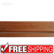 Fastrim | Hard Wood Molding | Jatoba Threshold Kit | 652-058 | 47x3x.9375 | Free Shipping