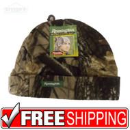 Remington Micro Fleece Camouflage Beanie Toboggan Hat Cap One Size Fits All Warm