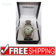 Men's Watch - Embassy Silver 160896906881