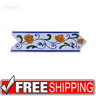 3x10 Ceramic Deco | 4 pcs | Dune | Moraira